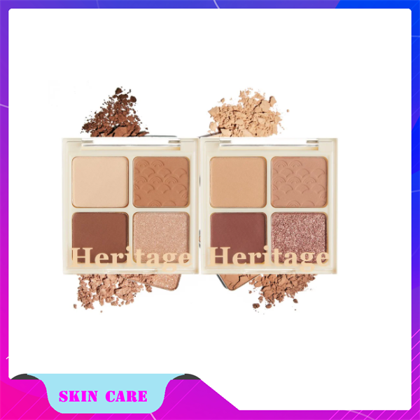 Phấn Mắt 4 Ô Merzy The Heritage Shadow Palette