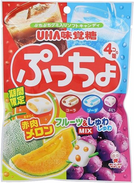 Kẹo mềm trái cây UHA Nhật 100g