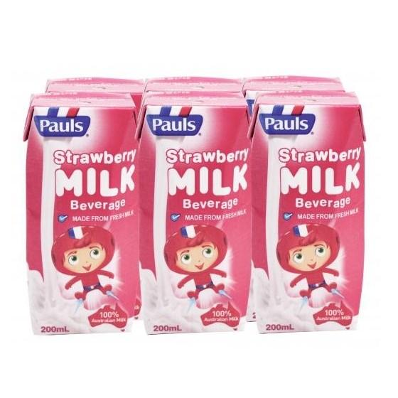 Sữa Pauls Dâu 200ml