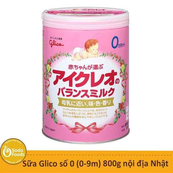 Sữa Glico số 0 (0-12m) 800g - Nhật