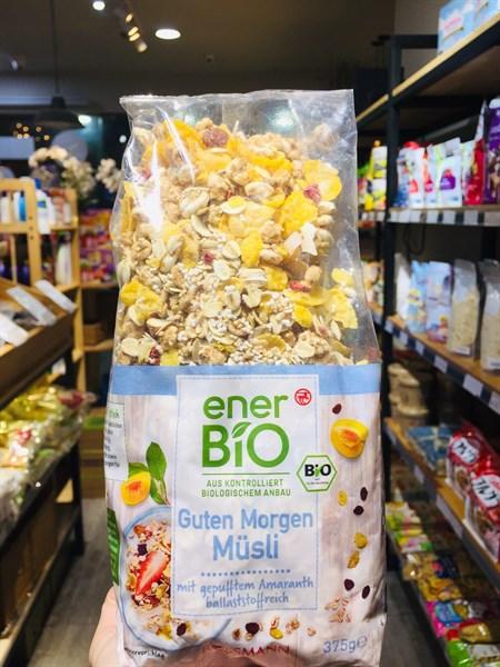 Ngũ cốc hữu cơ Bio- Đào 375g