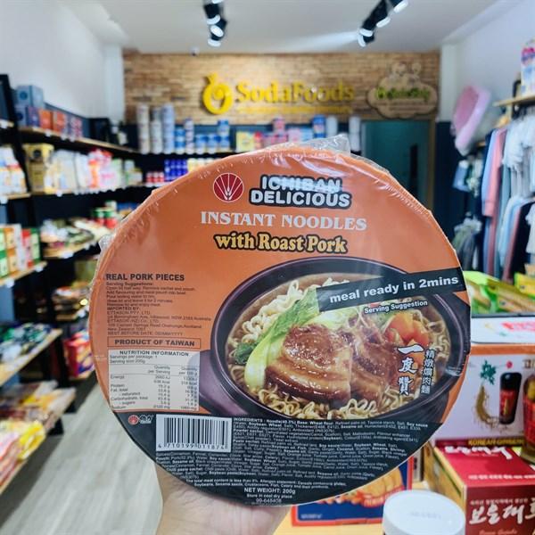 Mì tô Ichiban Đài Loan vị Thịt Heo Nướng 200g