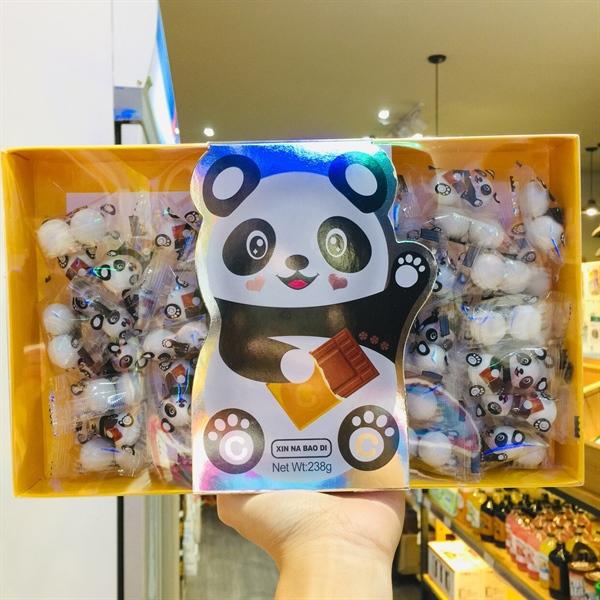 Kẹo gấu Chocolate Xinnabaodi 238g