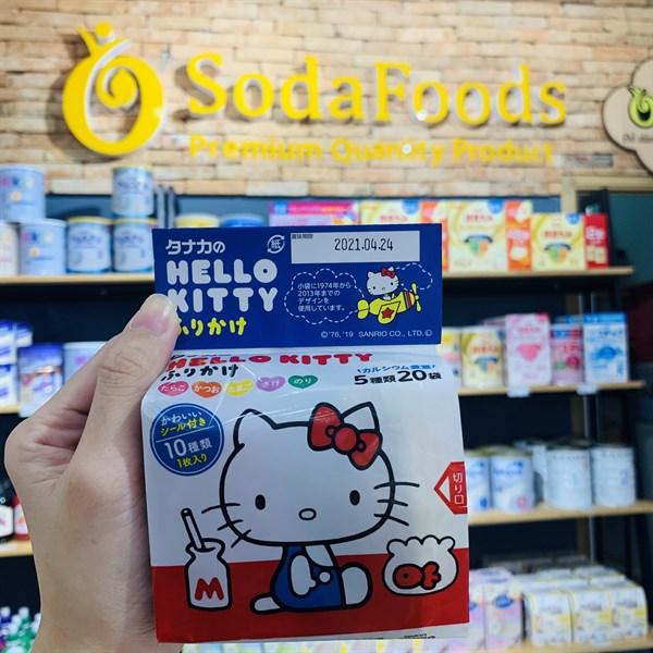 Rắc cơm Hello Kitty 5g*20