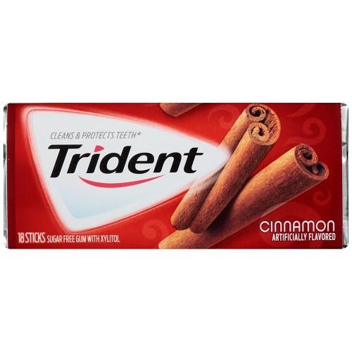 Gum Trident Quế