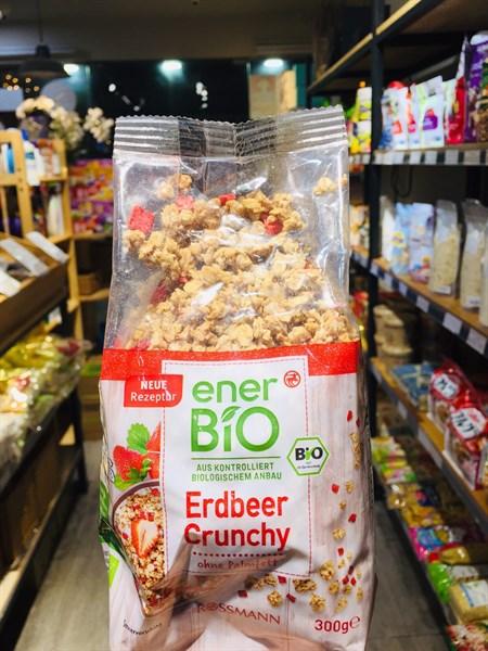 Ngũ cốc hữu cơ Bio-Dâu tây 300g