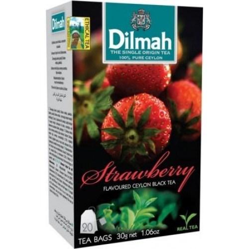 Trà Dilmah dâu 30g- Strawberry