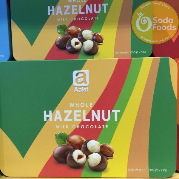 Chocolate sữa bọc hạt dẻ Aalst 150g