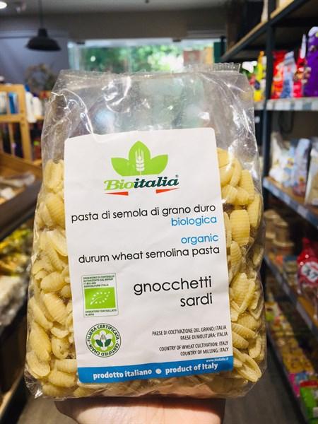 Nui sò hữu cơ Bioitalia 500g