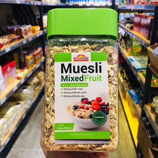 Yến mạch trái cây Muesli Mixed Fruit 530g