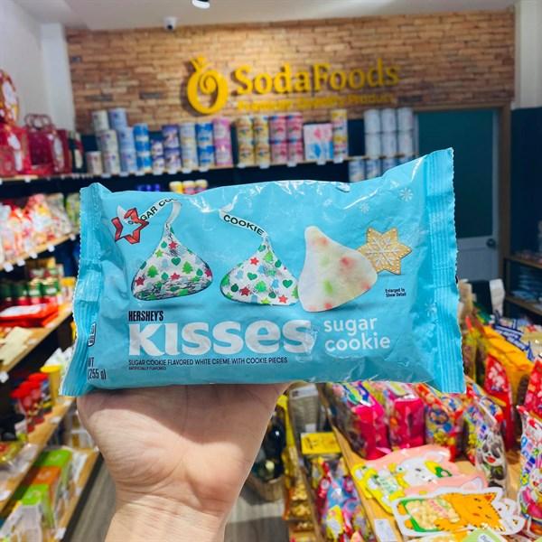 Socola Kisses phiên bản Giáng sinh gói 255gr Cookie