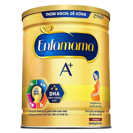 Sữa bột Enfa A+ Mama Chocolate 400g
