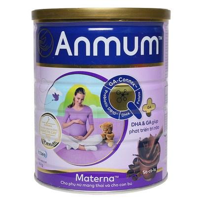 Sữa bột Anmum Matema Choco 800g