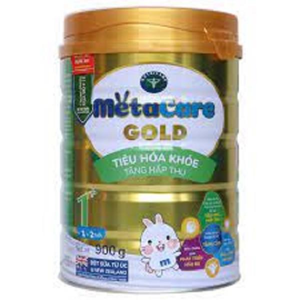 Sữa bột MetaCare Gold 1+ 900g (1-2 tuổi)