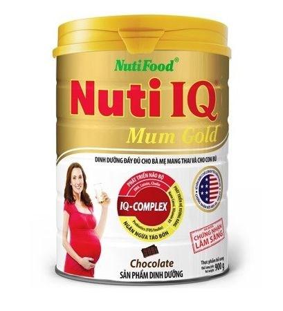 Sữa bột Nuti IQ mum so 900g