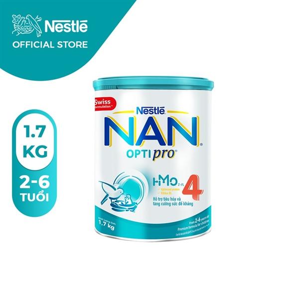 Sữa bột Nan Optipro 4 1.7kg (Mới)