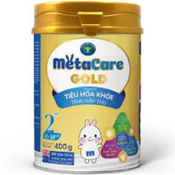 Sữa bột MetaCare Gold 2+ 400g (2-10 tuổi)