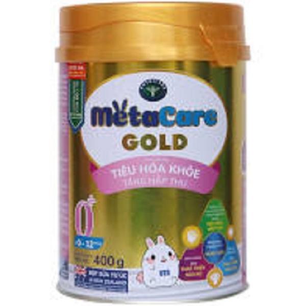 Sữa bột MetaCare Gold 0+ 400g (0-12 tháng)
