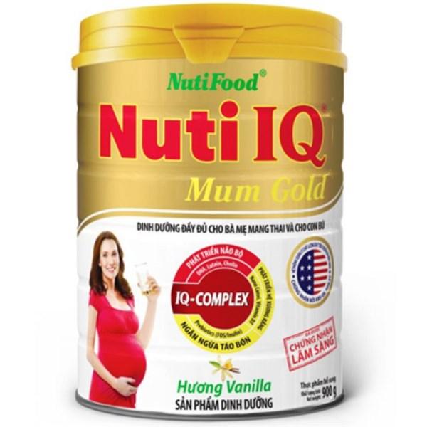 Sữa bột Nuti IQ mum vani 900g