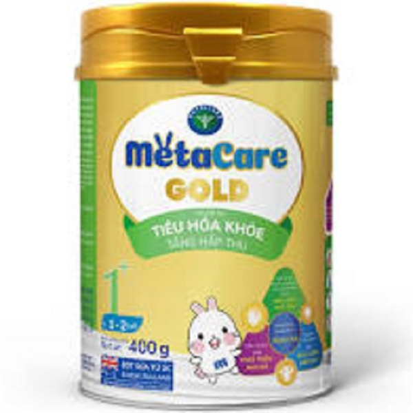 Sữa bột MetaCare Gold 1+ 400g (1-2 tuổi)