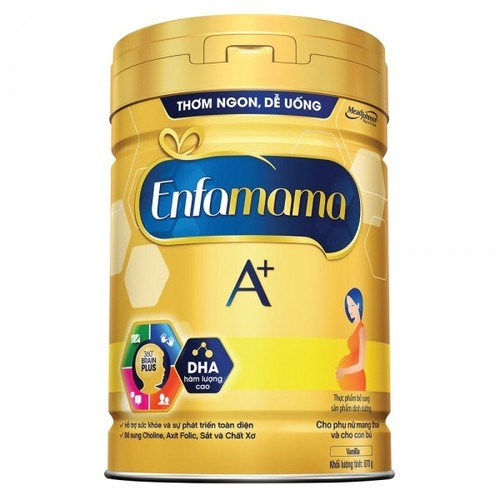 Sữa bột Enfa A+ Mama Vanila 870g