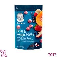 Sữa chua khô Gerber trái cây hỗn hợp 28g