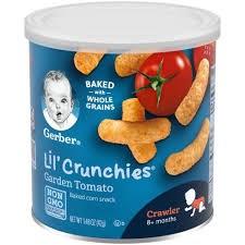 Bánh ăn dặm Gerber Mặn vị cà chua 42g