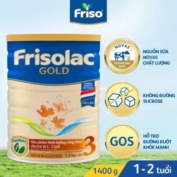 Sữa bột Frisolac Gold 3 1.4kg (Mới)