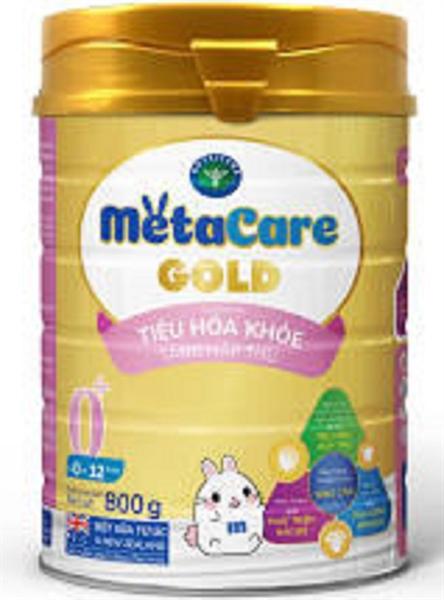 Sữa bột MetaCare Gold 0+ 800g (0-12 tháng)