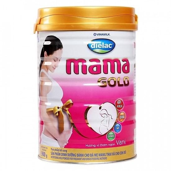 Sữa bột Dielac Mama Gold hương Vanilla 900g