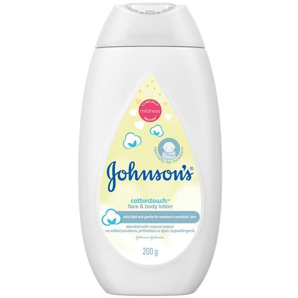 Sữa dưỡng ẩm Johnson's mềm mịn như bông 200ml