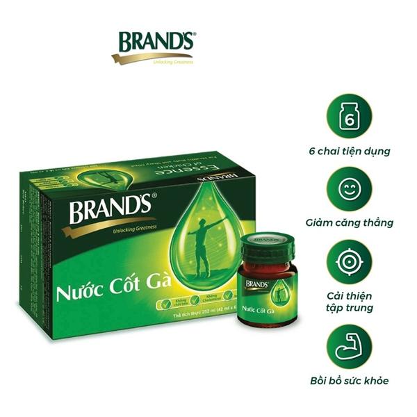 Nước Cốt Gà Brand's 42ml x 6