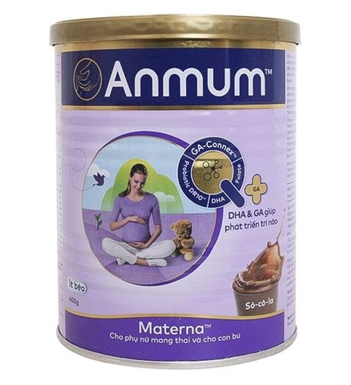 Sữa bột Anmum Matema Choco 400g