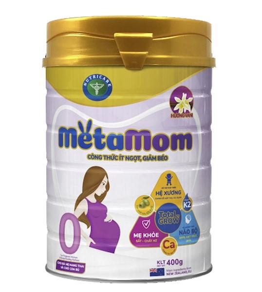 Sữa bột Metamom 900g vani (New)