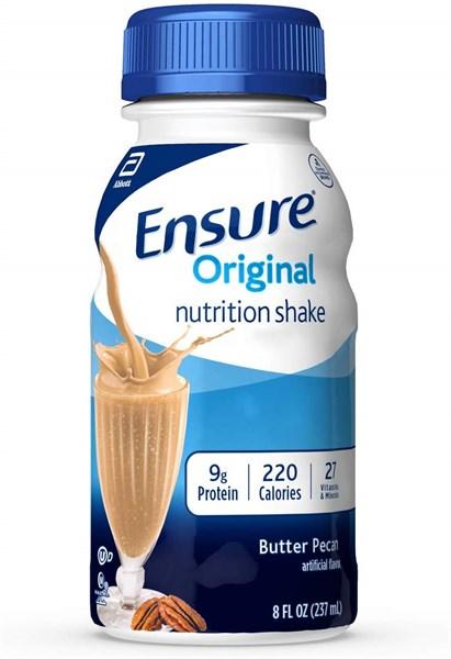 Sữa Ensure nước vị vani 237ml Mỹ dạng chai (Thùng 30 chai)