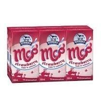 Sữa tươi Devondale Moo Strawberry 200ml ( Thùng 4 lốc)