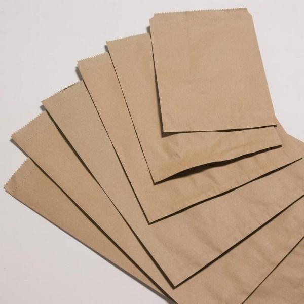 Bộ 100 túi giấy đựng bánh