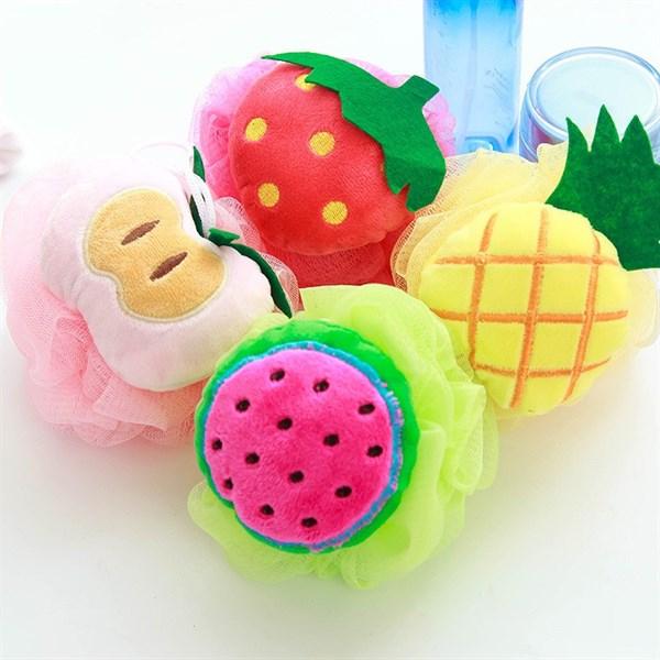 Bông tắm trái cây