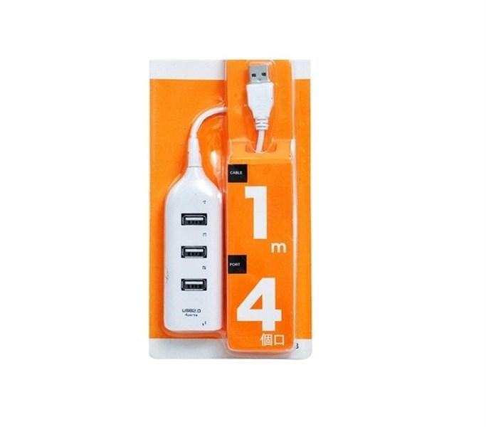 Hub USB hình ổ điện 1 ra 4 cổng usb