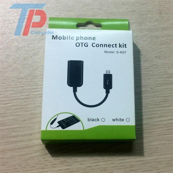 Cáp OTG Micro Usb Có hộp
