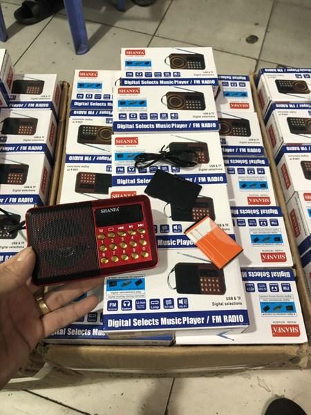Loa nghe pháp/FM bằng thẻ nhớ, USB Shanfa