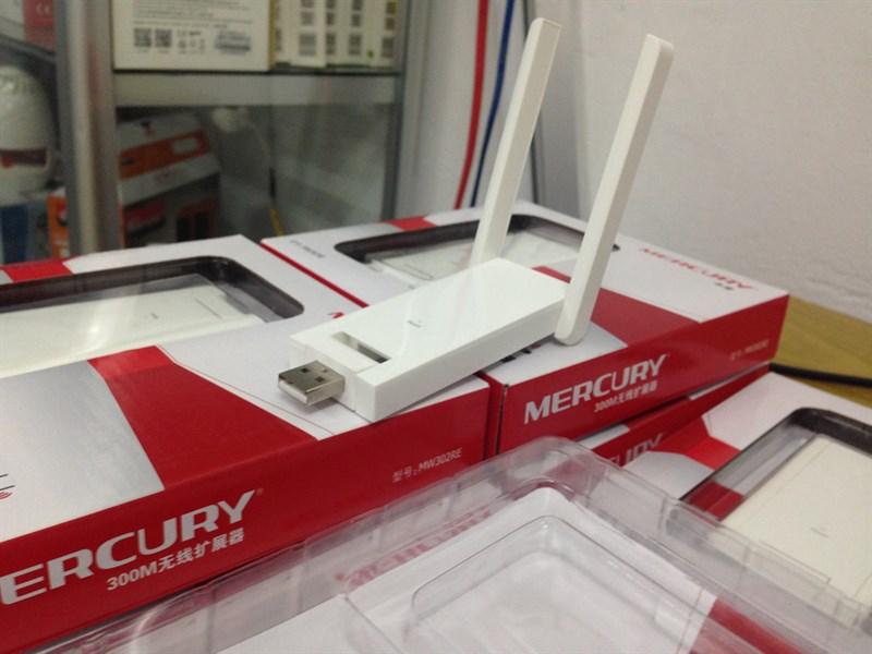 Kích sóng wifi Mercury 2 râu