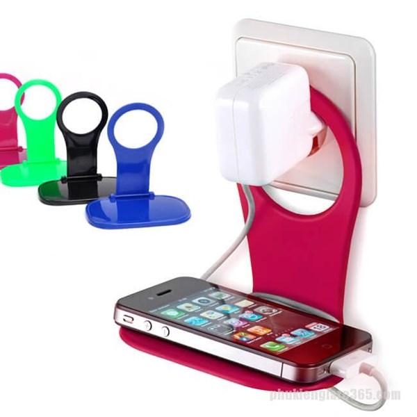 Giá đỡ điện thoại sạc pin