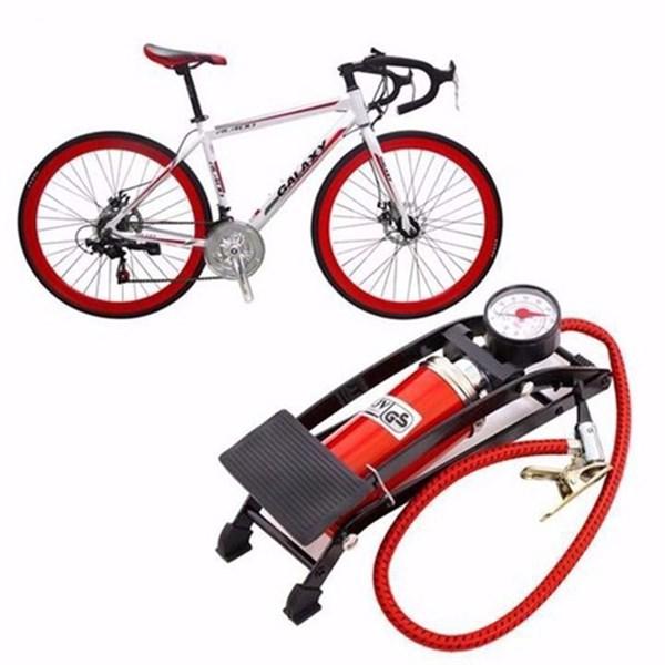Dụng cụ bơm xe đạp bằng chân