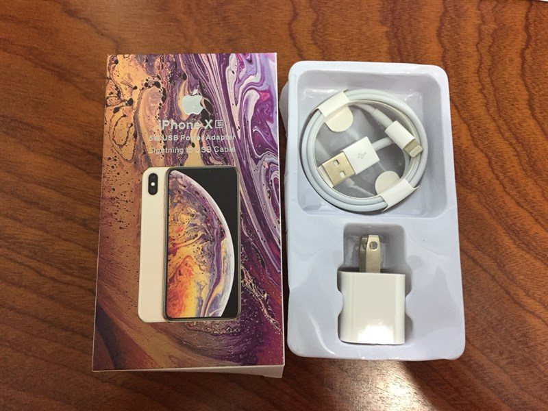 Bộ sạc Iphone XS Max linh kiện