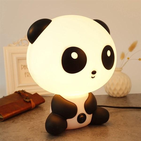 đèn sạc để bàn hình gấu trúc kute