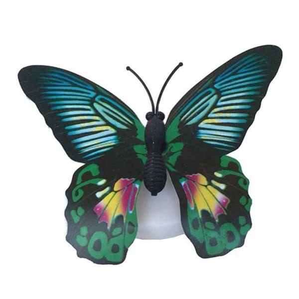 Đèn led dán tường hình bướm