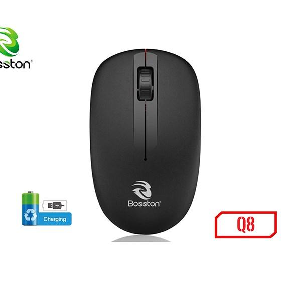 Chuột không dây Bosston Q8 - Pin sạc