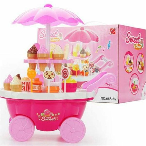Đồ chơi xe kem có nhac