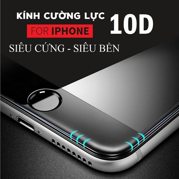 Cường lực 10D Iphone 7 Plus/ 8 Plus